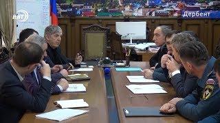 Министр МЧС Дагестана проверил готовность пожарно- спасательных подразделений Дербента