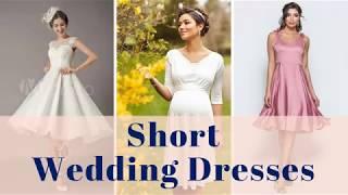 Short Wedding Dresses - 100+ Short Bridal Wedding Gown Ideas