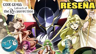 La Resurrección De Lelouch | ¿Era Necesaria? | Code Geass