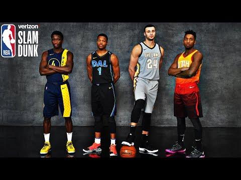 2018 All-Star Verizon Slam Dunk Mixtape   Donovan Mitchell SHOWS OUT