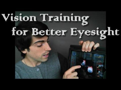 Vision Training for Better Eyesight - YouTube