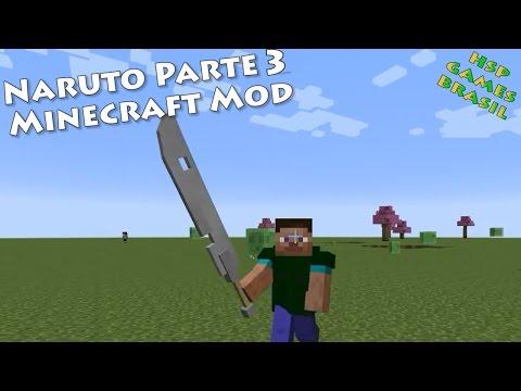 A espada do Zabuza! Naruto #3 Minecraft Mod