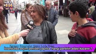 İstanbul da seçim yeniden yapılsa  hangi partinin adayı kazanır ?