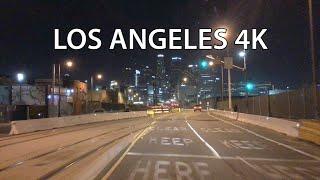 Смотреть онлайн Катаемся по вечернему Лос-Анджелесу