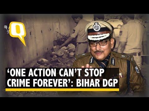 'Stop Celebrating Criminals; Society Needs to Awaken': Bihar DGP | The Quint