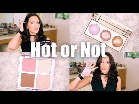 NEW HOLIDAY HIGHLIGHTER PALETTES | Hot or Not