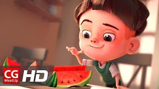 "CGI Animated Short Film: ""Watermelon A Cautionary Tale"" by Kefei Li & Connie Qin He 