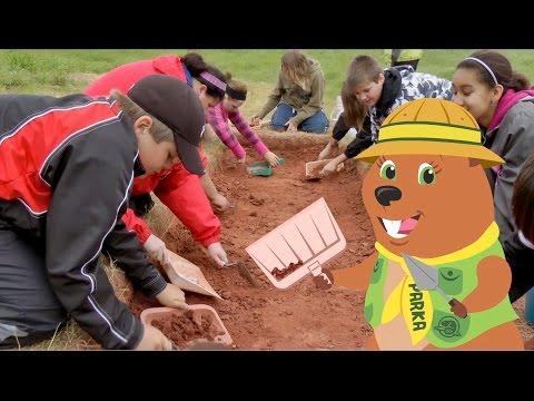 Parka découvre l'archéologie