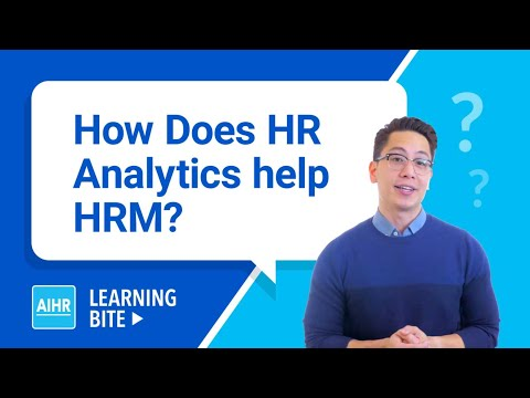 How Does HR Analytics Help HRM? | AIHR Learning Bite - YouTube