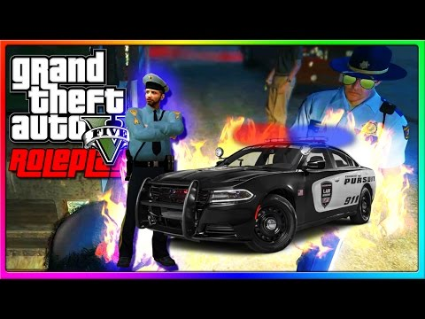 GTA 5 Roleplay - I STOLE A COP CAR! | GTA 5 RP Funny Moments