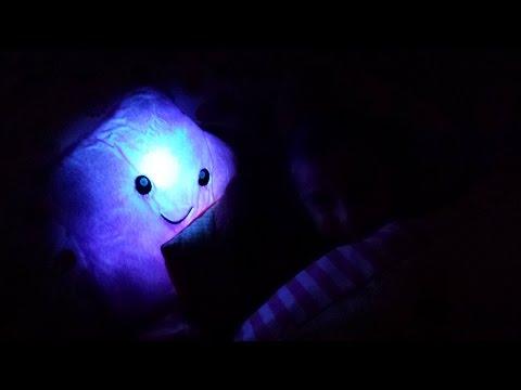 Sarcrafter LED Blinking Pillow Leuchtendes Sternekissen Pferdekissen