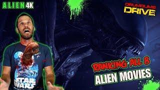 Ranking All 8 ALIEN MOVIES + Alien 4K DDrive!