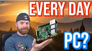Can A Raspberry Pi 4 Be Used As A Desktop PC   Full Test And Review