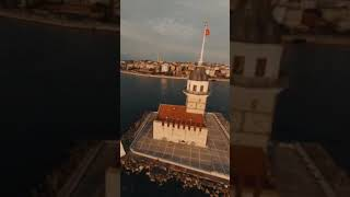 Beautiful İstanbul View with Fpv Drone
