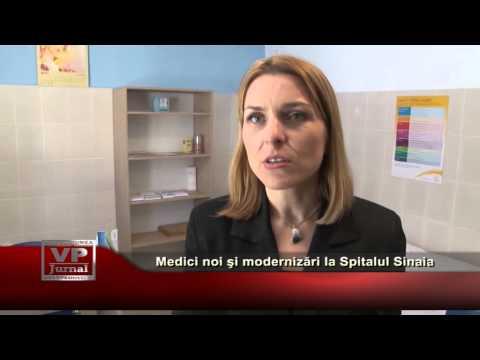Medici noi şi modernizări la Spitalul Sinaia