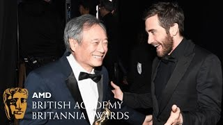 """""""I was like half-asleep when I directed that movie"""" - Ang Lee on Brokeback at the Britannias"""