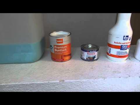 alte Küche erneuern und lackieren