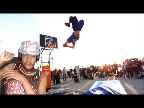 THIS IS INSANE! WORLD'S BEST FREESTYLE DUNKS REACTION!! (видео)