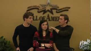 Гостья, Falen Interviews Jake Abel & Max Irons From the New Movie 'The Host'
