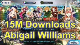 Abigail Williams  - (Fate/Grand Order) - [FGO JP] 15M Downloads | Abigail Williams rate up - Do I still have EX Luck?