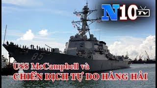 Tin Nóng : Mỹ Đưa Tàu Tên Lửa Hành Trình USS McCampbell Vào Quần Đảo Hoàng Sa