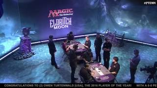 Pro Tour Eldritch Moon Quarterfinals: Duke vs. Scott-Vargas and Turtenwald vs. Takahashi