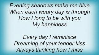 Andy Williams - My Happiness Lyrics