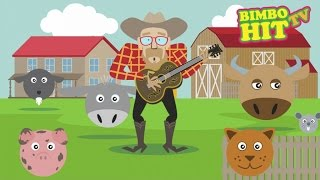 Old McDonald Had A Farm - Kids Song - Bimbo Hit TV
