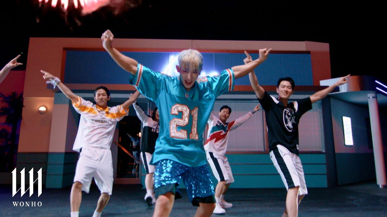 Wonho — Blue