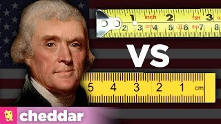 Why Doesn't the US Just Use the Metric System? - Cheddar Explains