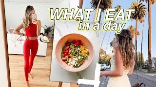 What I Eat In A Day *easy REALISTIC meals!*