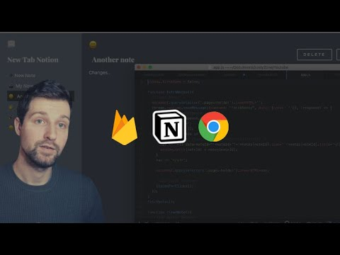 FREE COURSE - Build a New Tab Notes Chrome Extension (With Firebase Database)