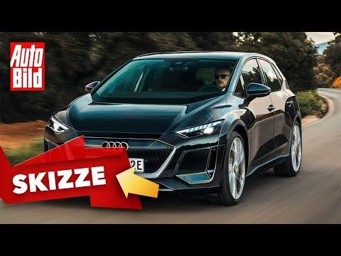 Audi A2 e-tron (2022): Skizze - Kompaktwagen - Elektro - Motor - Info