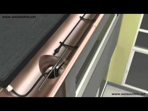 Dachrinnenheizung Fallrohrheizung Dachheizung Begleitheizung Weissenfels
