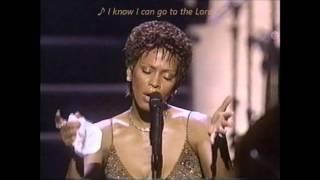 """Whitney Houston """"I Love The Lord"""" (LIVE) Wlyrics"""