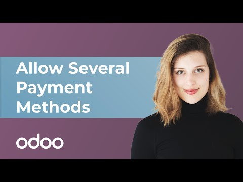 Allow Several Payment Methods in eCommerce | Odoo eCommerce