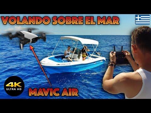 volando-mi-dron-desde-una-lancha-mavic-air-4kdronepilot