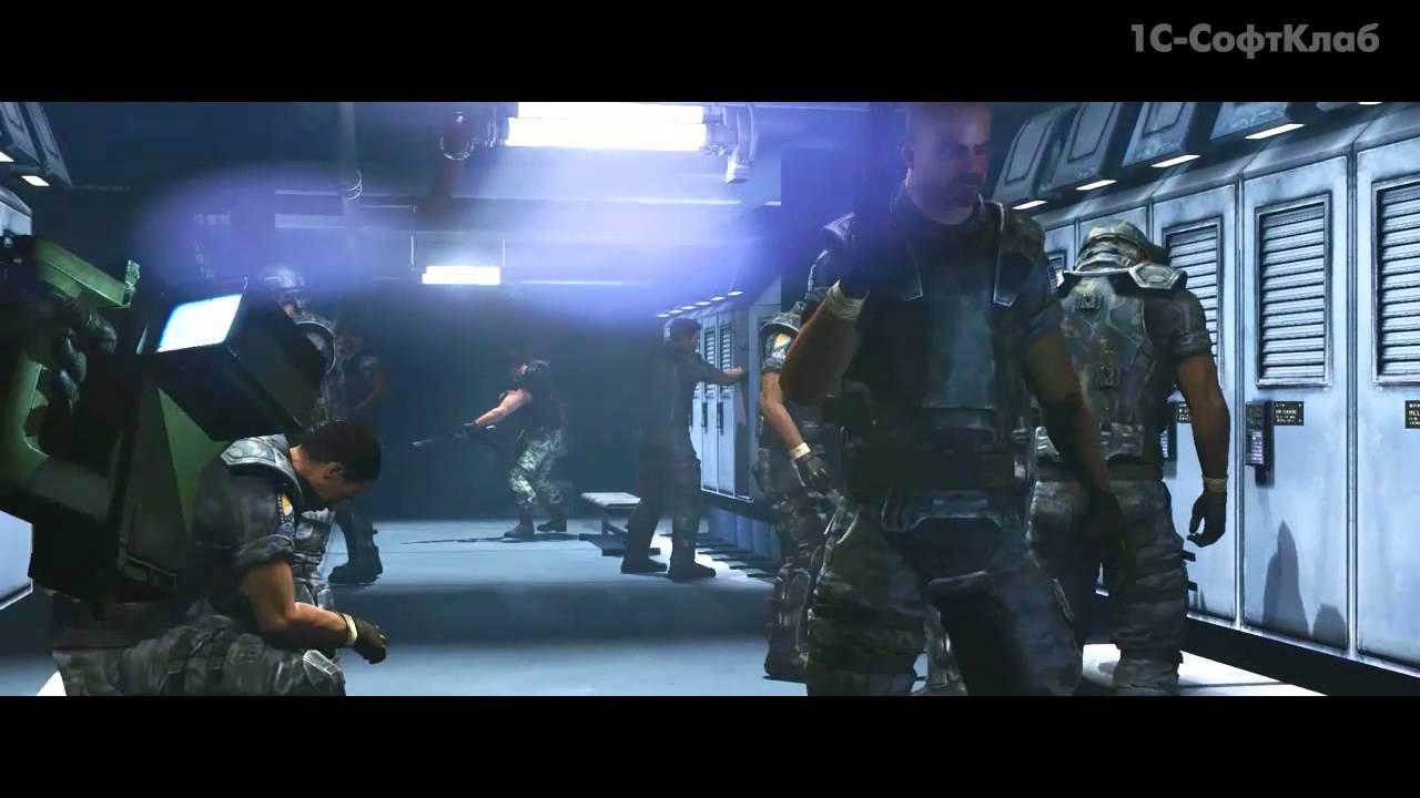 Обложка видео Трейлер #2 (сюжет) Aliens Colonial Marines