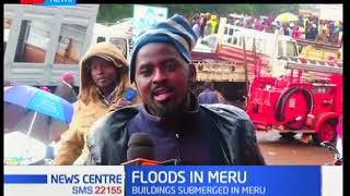 Firefighters evacuate Meru residents following heavy downpour and flooding