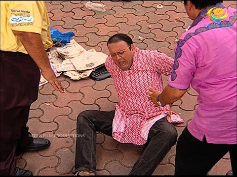 Bhide Falls From The Balcony?!   Taarak Mehta Ka Ooltah Chashmah   TMKOC Moments   तारक मेहता