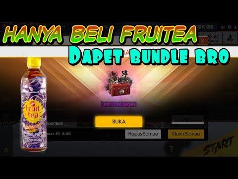 Tutorial cara beli Fruitea dan kode reedem di Alfamart