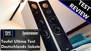Teufel Ultima 40 Hi-Fi Lautsprecher | Test | Review | Soundcheck | Vergleich | Basstest