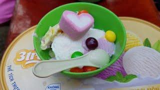 Ice cream! Ice cream!!! Trò chơi bán kem 3 màu 🍧🍨 Xí Mụi Food