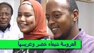 العروسة / شيماء خضر العطار .. وعريسها