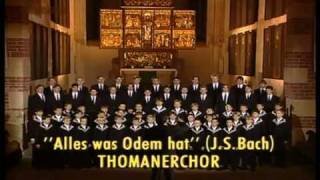 Thomaner-Chor Leipzig - Alles, was Odem hat, lobe den Herrn 1995