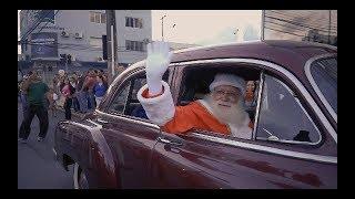 Chegada do Papai Noel e abertura da decoração de Natal | Itajaí Shopping