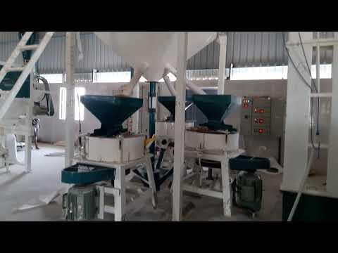 25 Ton Industrial Flour Mill Machine