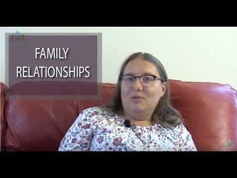 Sahaja improves family relationships