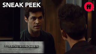 Shadowhunters | Season 2, Episode 12 Sneak Peek: Alec Visits Magnus | Freeform