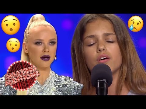 INCREDIBLE Kid Singer SHOCKS The Judges And The World | Amazing Auditions
